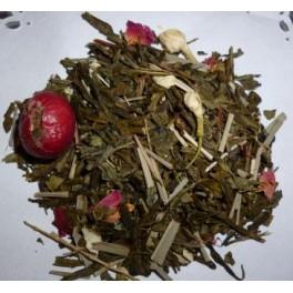 Thé blanc Litchi-pèche